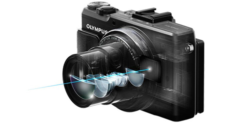 i.Zuiko Digital lens provides outstanding imaging power